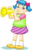 Music kid Stock Image