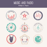 Music Label royalty free illustration