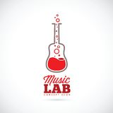 Music laboratory vector concept icon Stock Photos