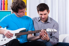 Music lesson Stock Photos