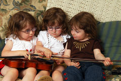 Music Lessons Royalty Free Stock Image