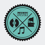 Music lifestyle Stock Photography