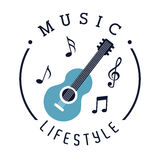 Music lifestyle Royalty Free Stock Images
