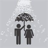 Music lifestyle Stock Image