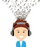 Music lifestyle Royalty Free Stock Image