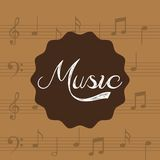 Music lifestyle design Stock Photography