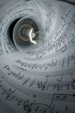 Music light Stock Photo