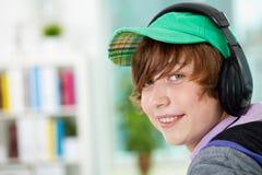 Music listener Royalty Free Stock Image