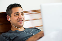 Music listener Royalty Free Stock Images