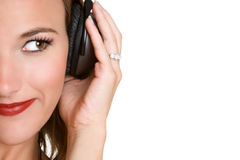 Music Listening Girl Royalty Free Stock Photo