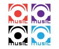 Music Logo Design Stock Images