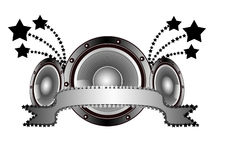 Music logo Stock Photo