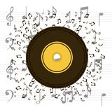 Music longplay icon Stock Photo