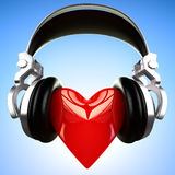Music love Stock Images