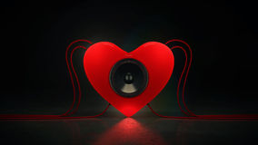 Music love stock illustration