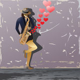 Music_of_love διανυσματική απεικόνιση