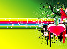 Music love background Stock Photo