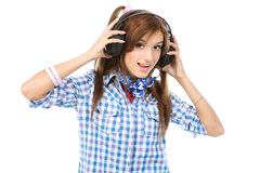 Music lover Royalty Free Stock Photos