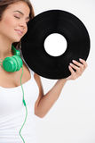 Music lover. Stock Images