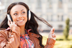 Music lover. Royalty Free Stock Photos