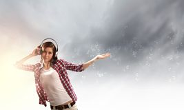 Music lover Royalty Free Stock Photo