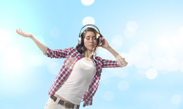 Music lover Royalty Free Stock Photography