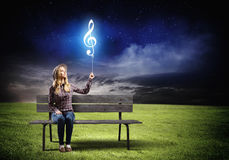 Music lover Stock Photos