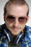 Music man. Royalty Free Stock Image