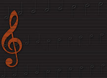 Music Manuscript Background Stock Photography