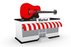 Music market Stock Image