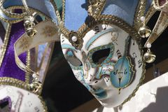 Music and mask Stock Photography