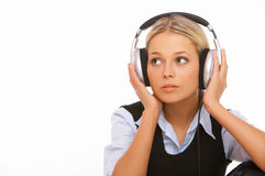 Music and me stock photos