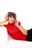 Music and me Stock Photo