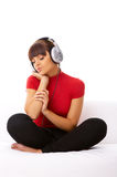Music and me Royalty Free Stock Photos