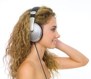 Music and me Stock Photography