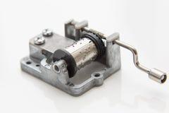 Music mechanism for music box DIY. Stock Image