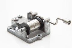 Music mechanism for music box DIY. Stock Photos