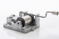 Music mechanism for music box DIY. Stock Photography