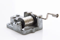 Music mechanism for music box DIY. Royalty Free Stock Photography