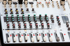 Music Mixer Stock Photo