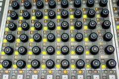 Music Mixer Stock Image