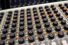 Music Mixer Royalty Free Stock Photos