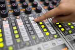Music Mixer Royalty Free Stock Photography