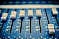 Music mixer Royalty Free Stock Photo