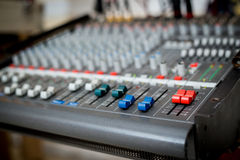 Music mixer. Royalty Free Stock Image