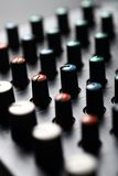 Music mixer desk Stock Photos