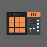 Music Mixer Icon Sound Studio Equalizer System Concept Royalty Free Stock Photo