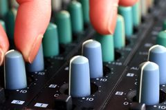 Music mixer Stock Images