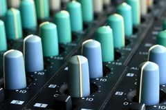 Music mixer Stock Photos