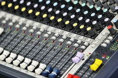 Music Mixer Stock Photography